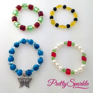 Colourful Beaded Bracelets