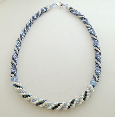 Blue Bead Crochet